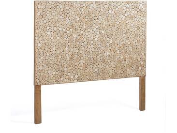 Tête de lit Kron, 174x135 cm bois naturel