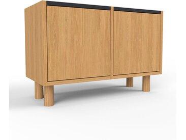 Meuble de rangements en chêne, bois certifié, aspect naturel, pour documents de qualité, solide - 79 x 53 x 35 cm, personnalisable