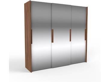 Dressing - portes coulissantes miroir, design, armoire penderie pour chambre ou entrée, haute qualité - 244 x 233 x 65 cm, modulable