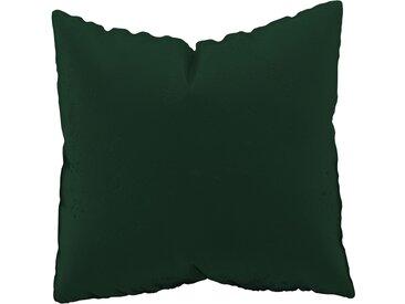 Coussin Vert Sapin - 50x50 cm - Housse en Velours. Coussin de canapé moelleux