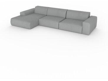 Canapé convertible - Grège, design arrondi, canapé lit confortable, moelleux et lit confortable - 345 x 72 x 168 cm, modulable
