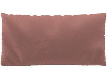 Coussin Rose Bonbon - 40x80 cm - Housse en Velours. Coussin de canapé moelleux