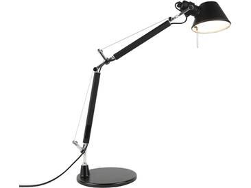 Lampe micro noire - Artemide Tolomeo Tavolo