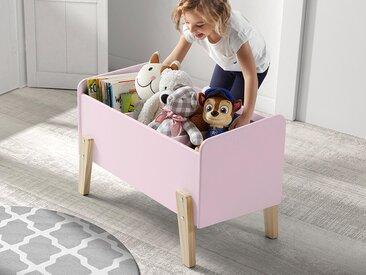 Coffre à jouets KIKI rose