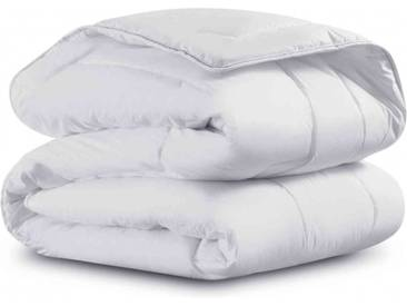 Couette Simmons enveloppe percale 4 saisons 350g - 260x240