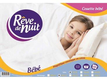 Couette Bébé Enveloppe 100% Coton 75x120 300g