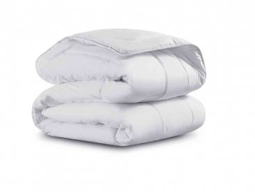 Couette Simmons enveloppe percale 4 saisons 350g - 240x220