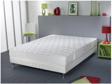 Ensemble Simmons Himalaya Couchage Elivéa   Sommier   Pieds 140x190