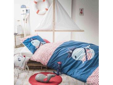 Parure de lit enfant Baleine Nemo 140x200