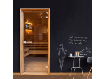 Papier-peint pour porte - Sauna