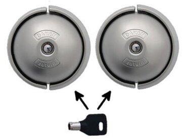 DAKEN - Serrure de véhicule arrière et latérale SATURNE - 84001003