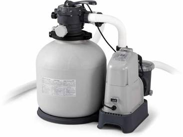 Intex pompe 28680 Filtre Sable Piscines Hors Sol 10000 Lt/Hr