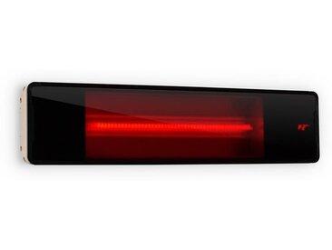 Blumfeldt Phantom Radiateur infrarouge aluminium 900W / 1800 W télécommande gris