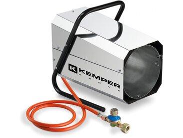 Générateur d'air chaud à gaz 30 KW KEMPER Canon à chaleur gaz tuyau et détendeur