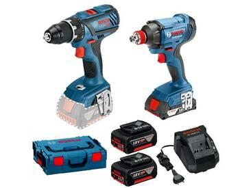 Pack perceuse-visseuse + boulonneuse Bosch GSR 18V-28 + GDX 18V-180 0615990K3L