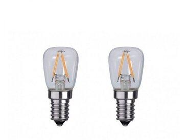 LOT 2 x Ampoule LED E14 Frigo 3W 4000°K Réfrigérateur Hotte Blanc Jour