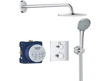 Set de douche Rainshower Cosmopolitan 210 avec thermostat encastré, chrome (34734000)