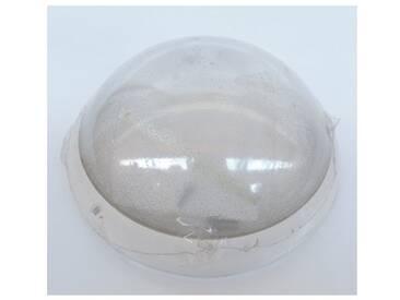 Hublot fluo 21W Ø 300mm blanc polycarbonate avec lampes 4000K 2D GR10-q et ballast elec CL2 IK10 IP44 OPTION LEBENOID 078861
