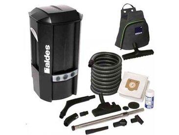 aspirateur central ALDES Pack C.Dooble Garantie 2 ANS (jusqu'à 400 m²) + set de nettoyage