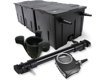 SunSun Kit de filtration de bassin 90000l 72W UVC 6. Stérilisateur NEO10000 80W Pompe Skimmer