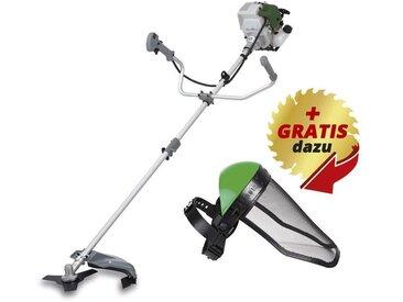 GartenMeister Débroussailleuse à essence - GM 4T-700 + masque de protection