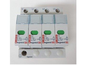 Parafoudre modulaire 40kA 400V 4P protection tableau divisionnaire type 2 capacité élevée Lexic LEGRAND 003933