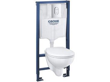 Set WC suspendu Rimless Grohe BAU Ceramic