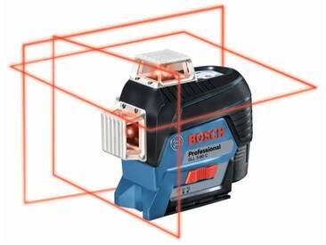 Bosch Laser lignes GLL 3-80 C, avec 1 x 2,0-Ah-Li-Ion-batterie, assortiment daccessoires - 0601063R05