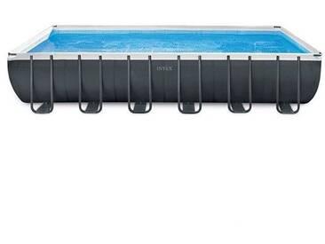 Piscine tubulaire Ultra XTR - Rectangulaire - 7,32 m x 3,66 m x 1,32 m de Intex - Kit piscine