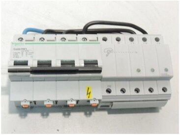 Parafoudre combi 25-50kA 3P+N 440V avec voyant vert PRF1 TT pour reseau basse tension SCHNEIDER ELECTRIC 16629
