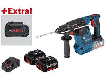 Bosch Perforateur sans-fil GBH 18V-26 F, 2 batteries 5,0 Ah, ProCORE18V 8.0Ah, L-BOXX - 0615990K7Z