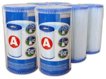 Lot de 6 cartouches de filtration A - Intex