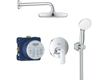 Grohe Eurosmart Cosmopolitan Système de douche encastré, avec Tempesta 210-25219001 | Chromé