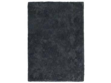 Tapis uni Velvet par Lalee Graphite 200x290