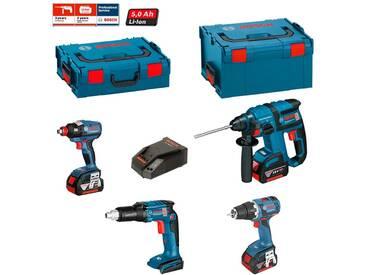 BOSCH Kit ECL4P3BE (GDX 18 V-EC + GSR 18 V-EC TE + GSR 18V-60 C + GBH 18 V-EC + 3 x 5,0 Ah + GAL1880CV + L-Boxx 136 + L-Boxx 238)