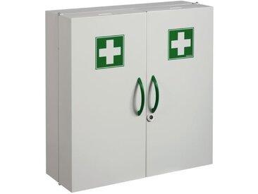 Armoire a pharmacie 2 portes blanche h 540 x ep 200 x lg 520
