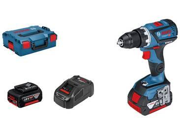 Bosch GSR 18 V 60 C professional perceuse visseuse 2 batteries 18 V 5 Ah simply connnected L-Boxx - 06019G1100