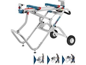 BOSCH Piètement roulant pour scie onglet radiale ...GTA2500W - 0601B12100