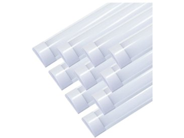 Réglette Lumineuse LED 120cm 48W (Pack de 10) - couleur eclairage : Blanc Froid 6000K - 8000K