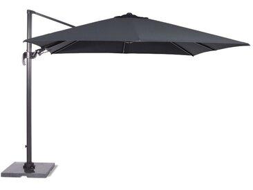 Parasol Hawaii - Ø 350 - noir charbon / gris foncé - Garden Impressions