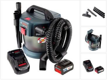 Bosch GAS 18V-10 L Professional Li-Ion Aspirateur sans fil pour poussières et liquide + 1x Batterie GBA 6,3 Ah EneRacer + Chargeur GAL 1880 CV