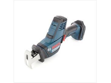 Bosch GSA 18 V-LI C Professional Scie sabre sans fil avec boîtier L-Boxx + 2x Batteries Bosch GBA 5,0 Ah + Chargeur