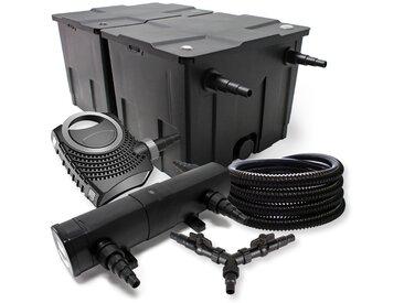 SunSun Kit filtration bassin 60000l 18W Stérilisateur NEO10000 80W Pompe 25m Tuyau
