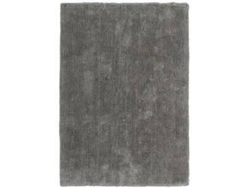 Tapis uni Velvet par Lalee Platine 80x150
