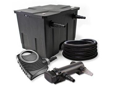 SunSun Kit de filtration de bassin 12000l 18W UVC 3. Stérilisateur NEO8000 70W Pompe Tuyau