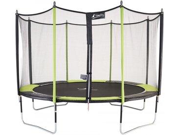 Trampoline de jardin 426 cm + filet de sécurité JUMPI POP 430