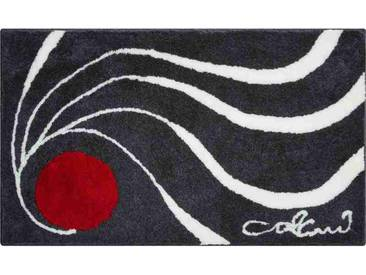Tapis de salle de bain COLANI 18 anthracite 80 x 150 cm / Couleur: Anthracite / Référence: b2162-314068