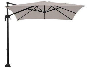 Parasol Hawaii S - 250 x 250 - noir charbon - sable - Garden Impressions