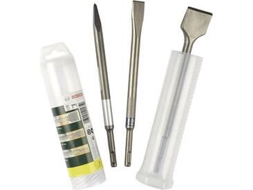 Set de burins SDS-Plus 3 pièces Bosch Accessories 2607019457 Longueur 250 mm 1 set