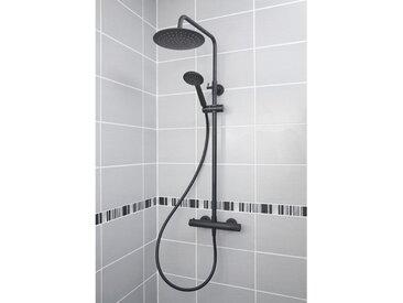 colonne de douche mitigeur thermostatique DERVENN noire